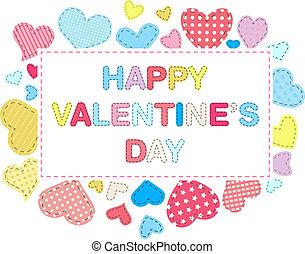 giorno, scheda, valentines