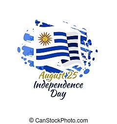 giorno, uruguay, indipendenza