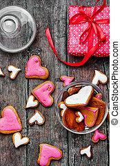 giorno valentines, biscotti