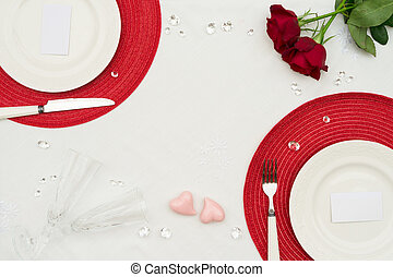 giorno valentines, cena