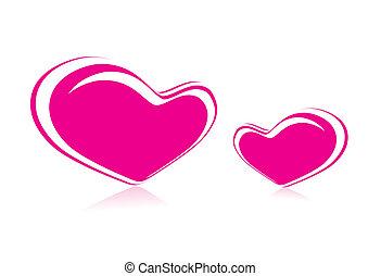 giorno valentines, cuori