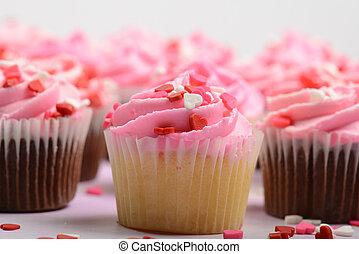 giorno valentines, cupcakes