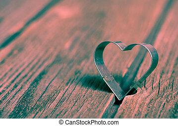giorno valentines, fondo, con, cuore