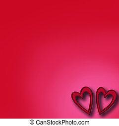 giorno valentines, fondo, con, sentire