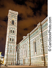 Giotto Campanile at the Florence Cathedral - Italy