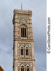 giotto's, campanile, florença, itália