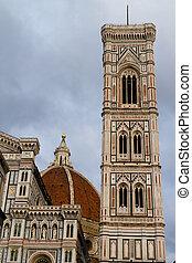 giotto's, itália, campanile, florença