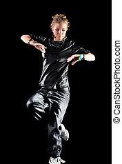 giovane, ballo moderno