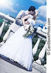 giovane coppia, matrimonio