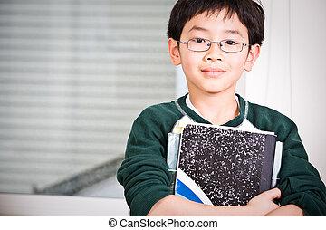 giovane, studente