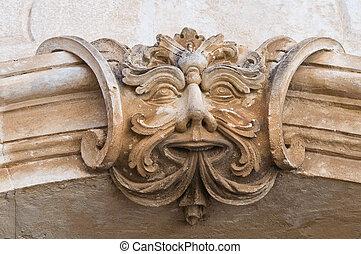 Giovine palace. Ostuni. Puglia. Italy.