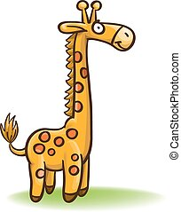 girafa, caricatura