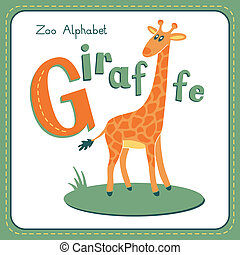 giraff, -, brev g