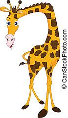 giraff, tecknad film