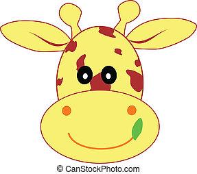 giraffa, illustrazione