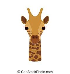 giraffe animal cartoon
