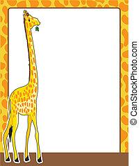 Giraffe Border