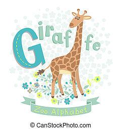 giraffe, -, brief g