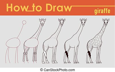 Giraffe draw tutorial