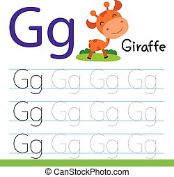 giraffe drawing line vector design