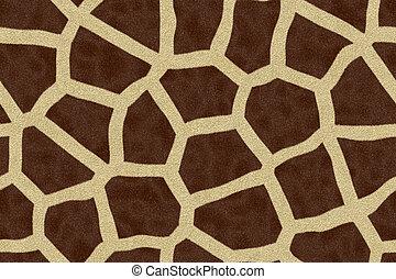 Giraffe Pattern - Computer rendering of Giraffe Spots