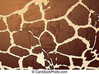 giraffe pattern skin