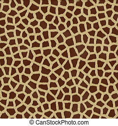 giraffe spots - a very large rendered illustration of...