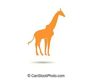 Giraffe vector icon