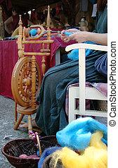 girar, lana, 1