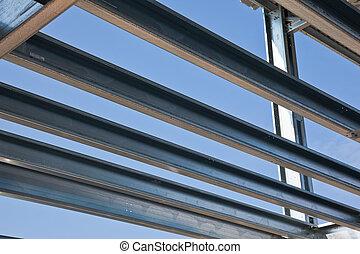 Girders - Arrangement of zinf steel floors girders