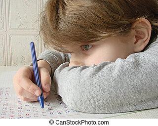 girl, 2, stylo