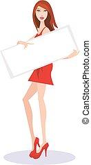 girl banner