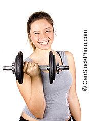 girl body building