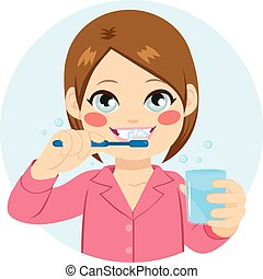 brushing teeth illustrations and clip art 8 903 brushing teeth rh canstockphoto com brushing teeth clipart brush teeth clipart