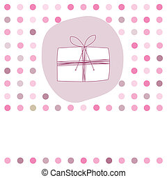 girl, carte anniversaire