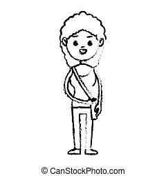 girl cartoon icon