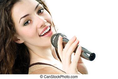 girl, chant