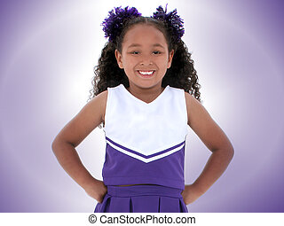 Girl Cheerleader