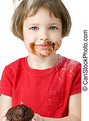 Girl Child Chocolate