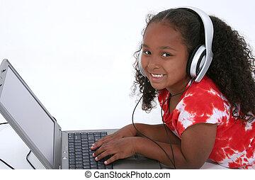Girl Child Laptop