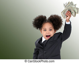 Girl Child Money Fun