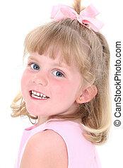 Girl Child Portrait