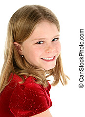 Girl Child Portriat