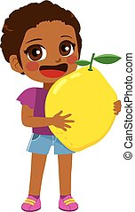 girl, citron, tenue