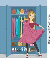 Girl Closet