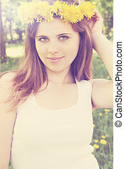 girl, couronne