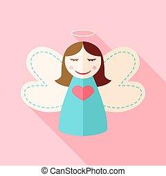 Girl cute angel