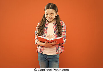 Girl cute write down idea notes. Notes to remember. Write ...