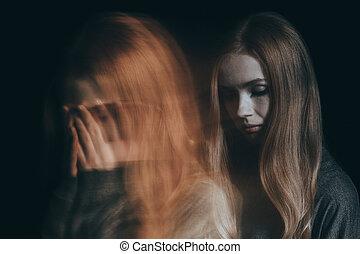 girl, désordre, mental