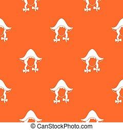 Girl dutch pattern seamless
